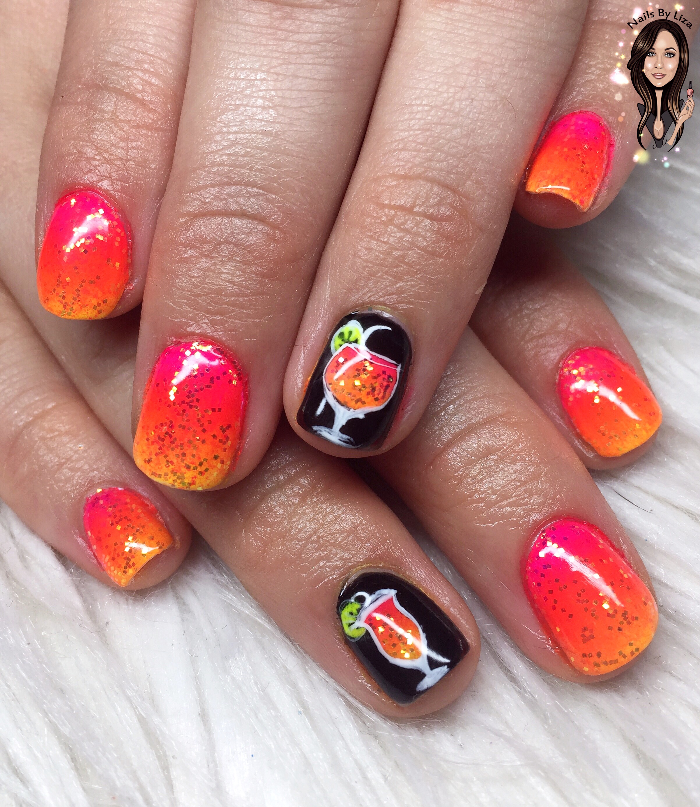 August Nails Nail Art Glastonbury Somerset Nails By Liza