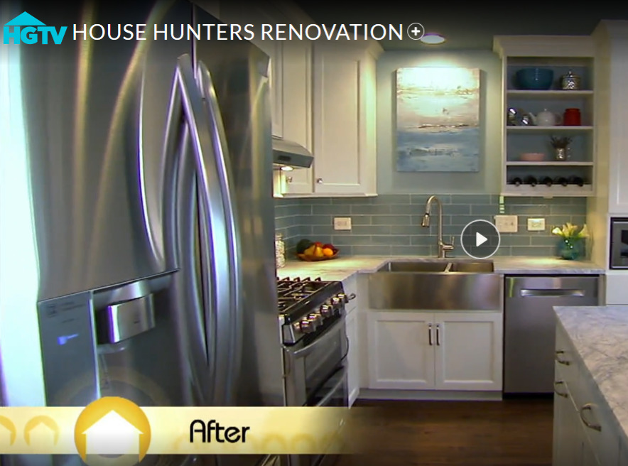 Kitchen Renovation on HGTV House Hunters Renovations