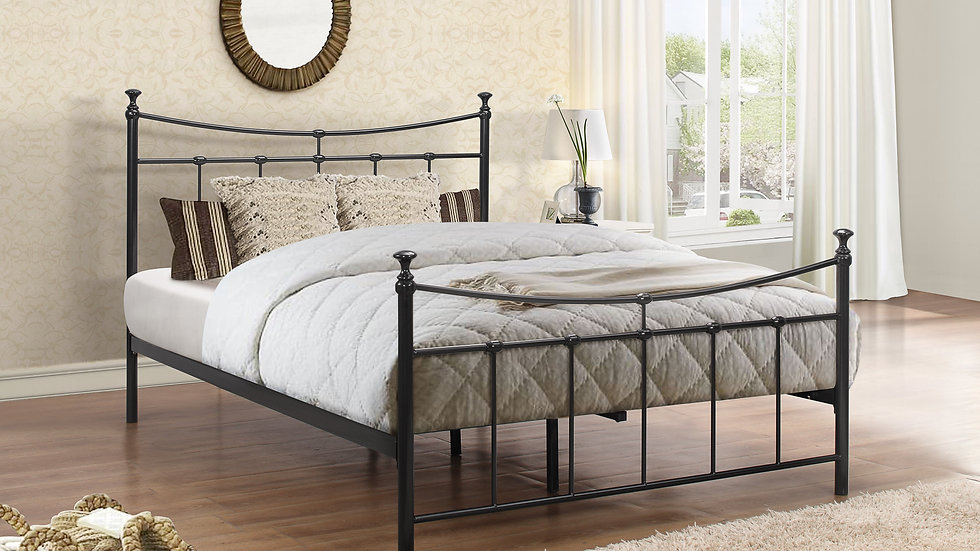 Charming Traditional Emily Bed Frame available in 3FT, 4FT & 4FT6