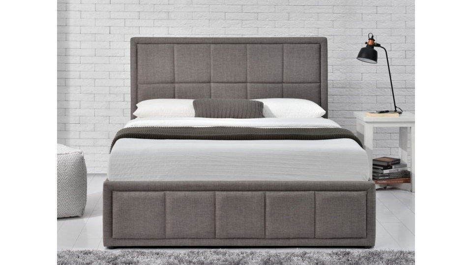 Hannover Fabric Ottoman Storage Bed