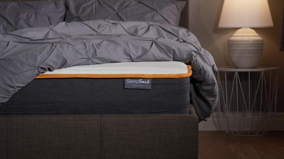 Luxury SleepSoul Balance Mattress 800 Pocket Sprung Memory Foam 4ft 4ft6