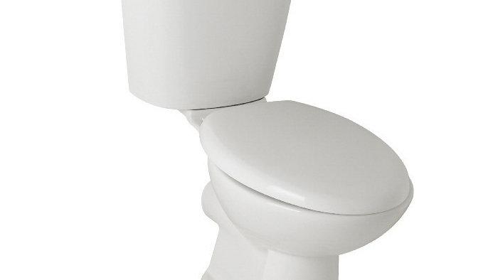 Rhine Bathroom Toilet Set, Basin, Basin Pedestal & Mixer Tap Bundle