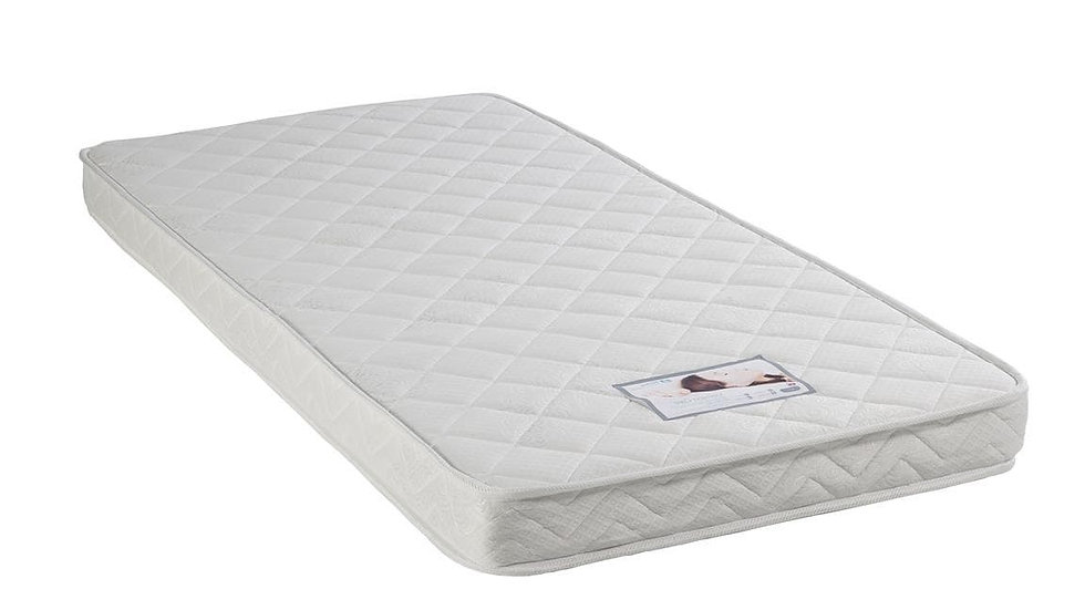 NEW Soft Quilted Covered Reflex Mattress 3FT 4FT 4FT6