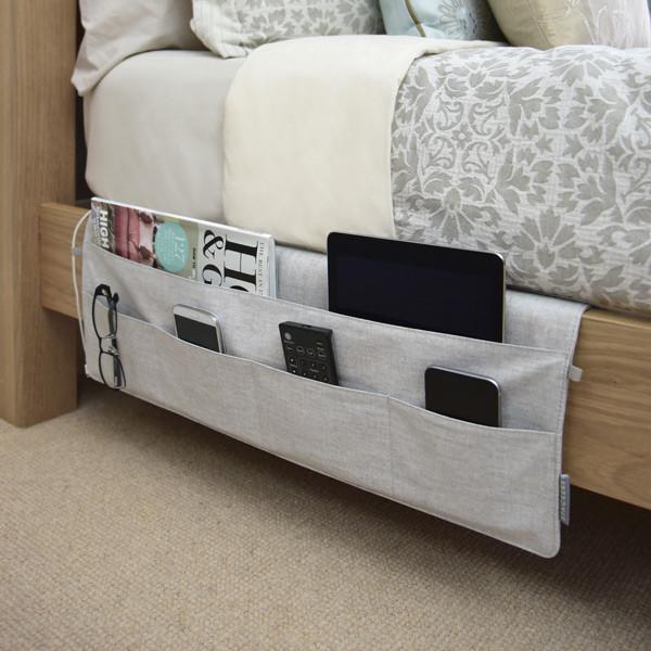 Bedside Caddy Organiser space saving solution FTA Furnishing
