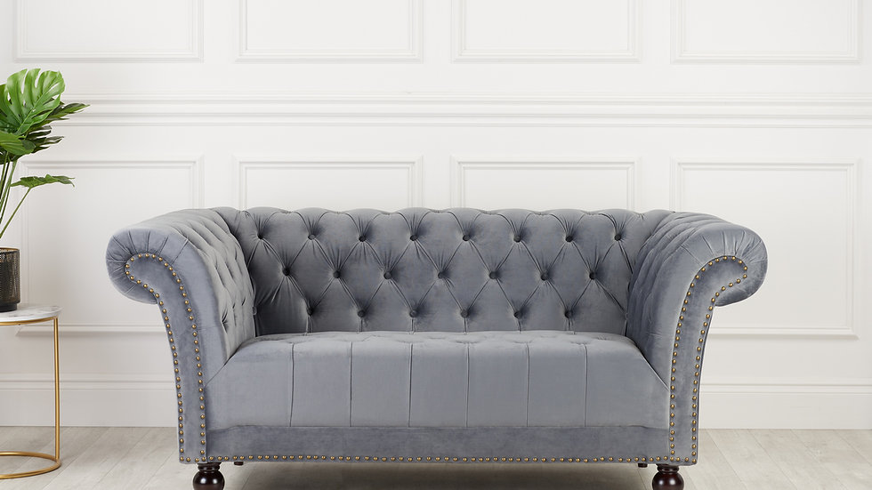 Beautifully Buttoned Chester 2 Seater Sofa
