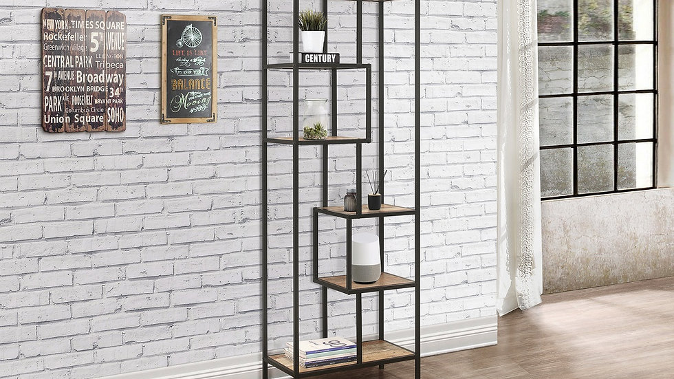 NEW Industrial Chic Tall Shelving Unit Coffee Table & Nest of Tables