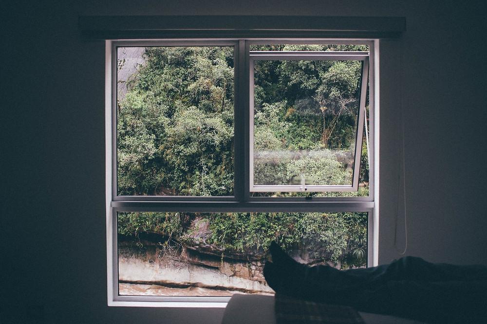 Sleeping with the window open