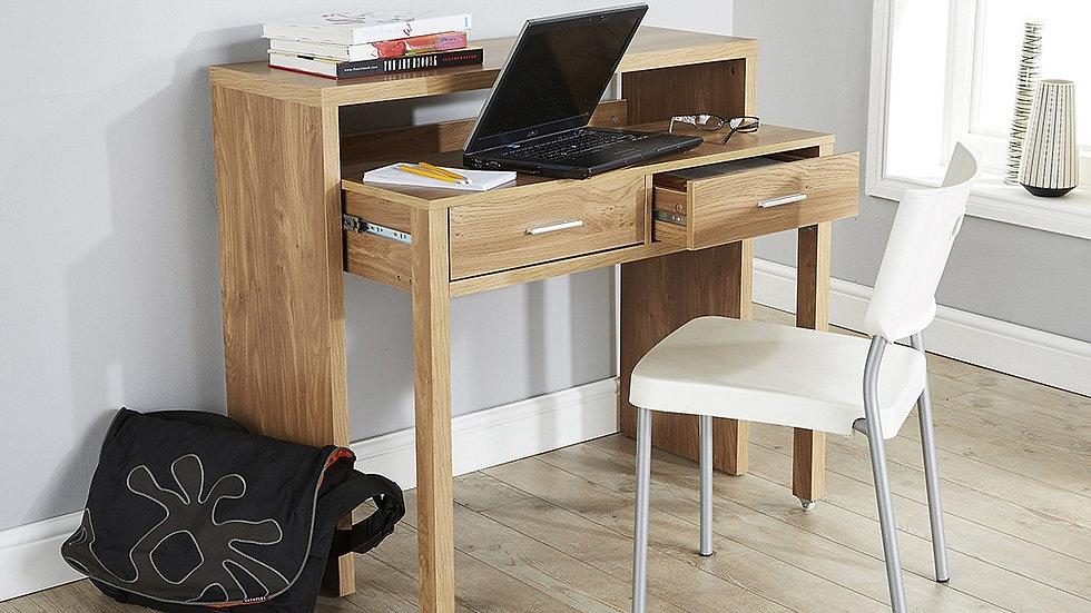 Regis Extending Desk/Console Table In Oak