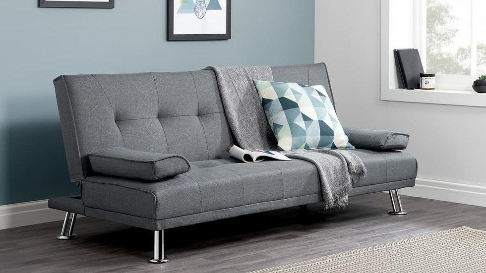 Stylish And Versatile Logan Fabric Sofa Bed