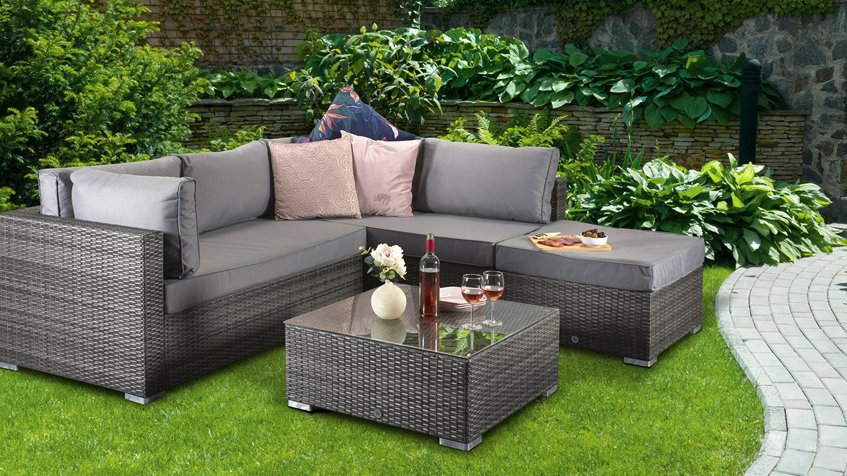 NEW Beautifully Crafted  Luxury Corner Sofa Set available in Grey or Brown