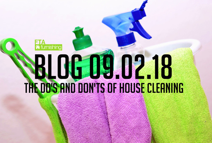 The Do's and Don'ts of House Cleaning