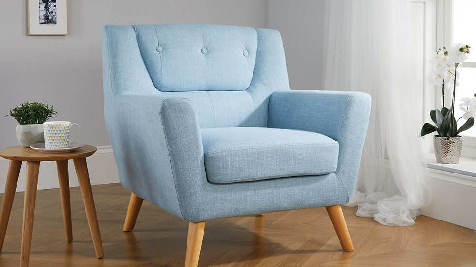 Classic Button Back Retro Inspired Lambeth Chair