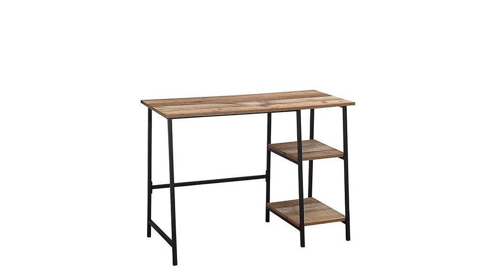 New Modern Industrial-effect Wooden Oak Home Office Study Desk