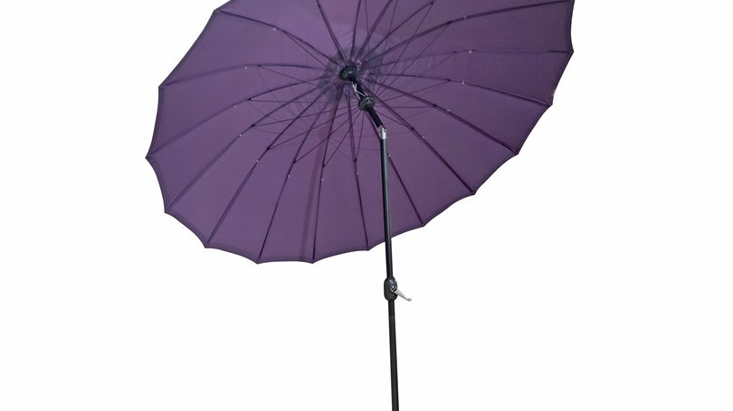 NEW Classic 2.7m Table Parasol available in Purple or Green