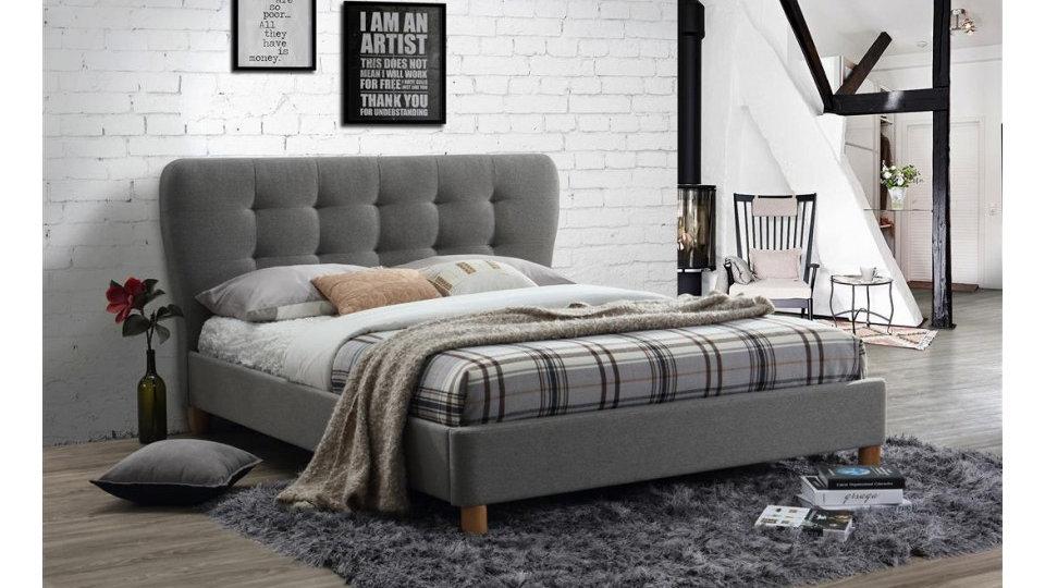 Stockholm Retro Fabric Bed