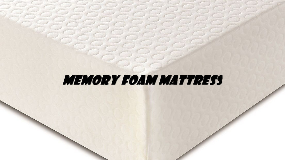 6 Inch Memory Foam Mattress (1+5) + 2 Pillow Included // 4 Sizes Available