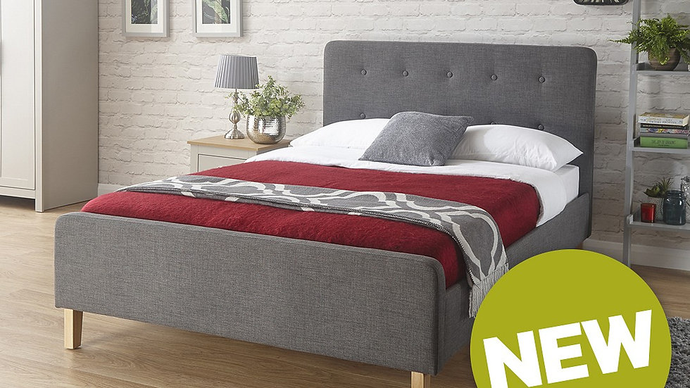 Asbourne Fabric Bed