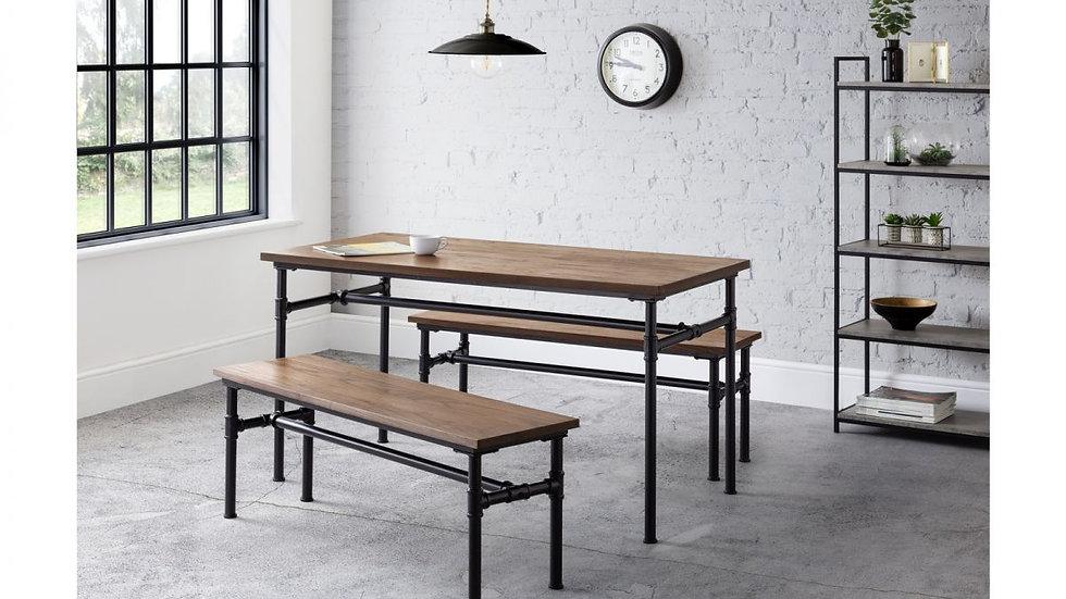 Industrial Design Carnegie Dining Table