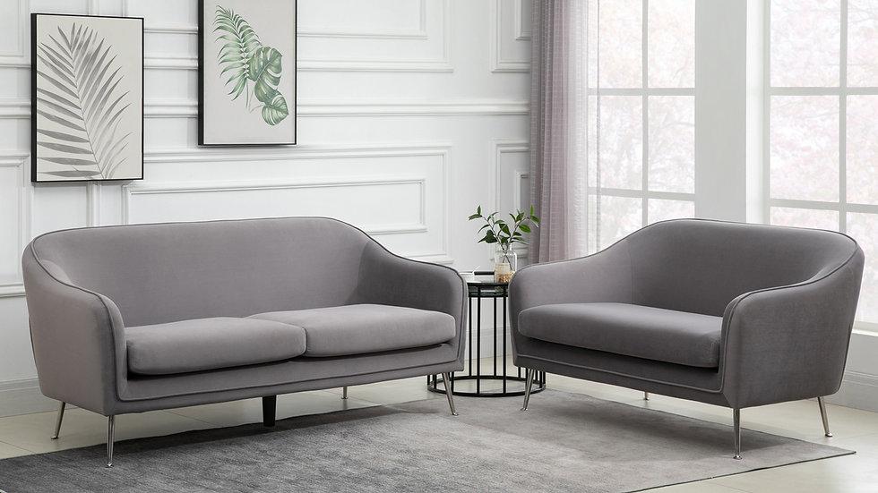 Luxurious Modern Novello 2 Seater Sofa