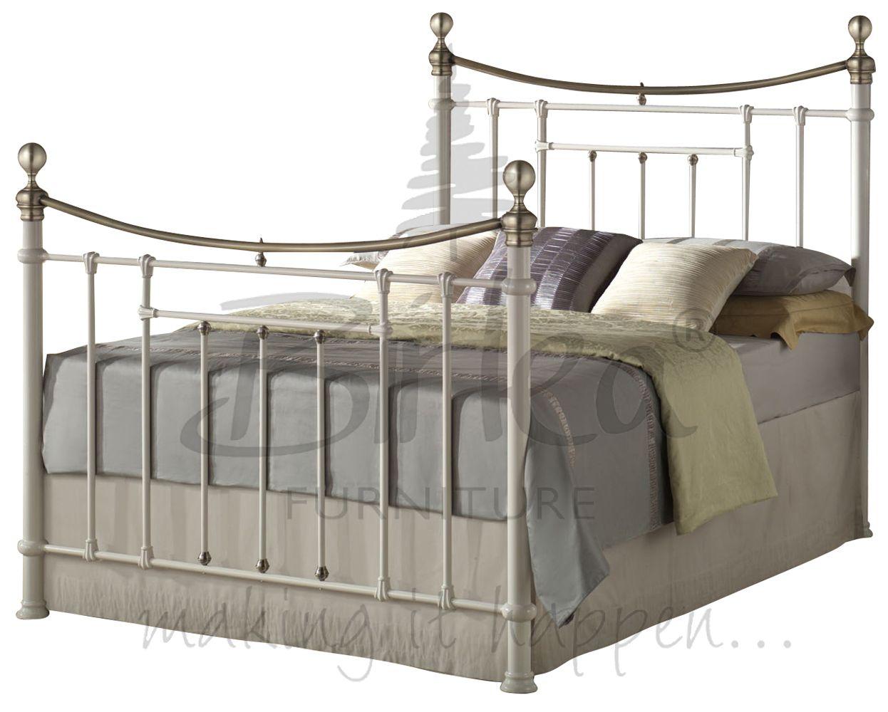 Klassisch Vintage Viktorianischer Stil Metall Bett 1,4m und 1,5 m ...