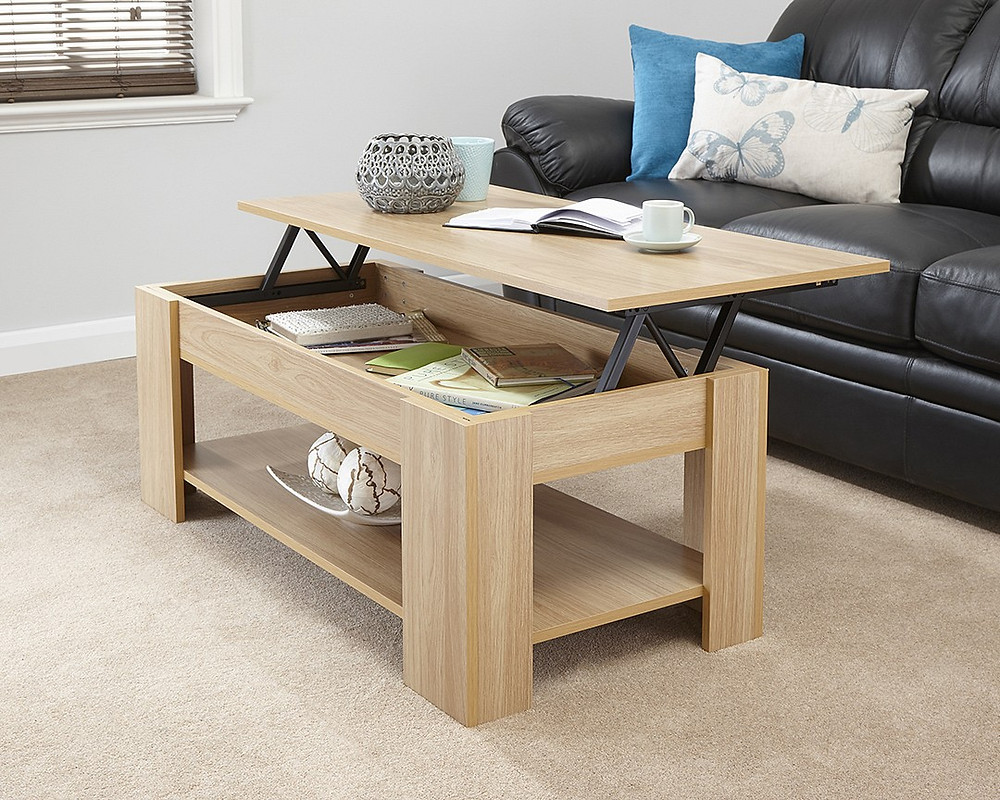 GFW's Lift up coffee table, available in 4 colour with FTA Furnishing