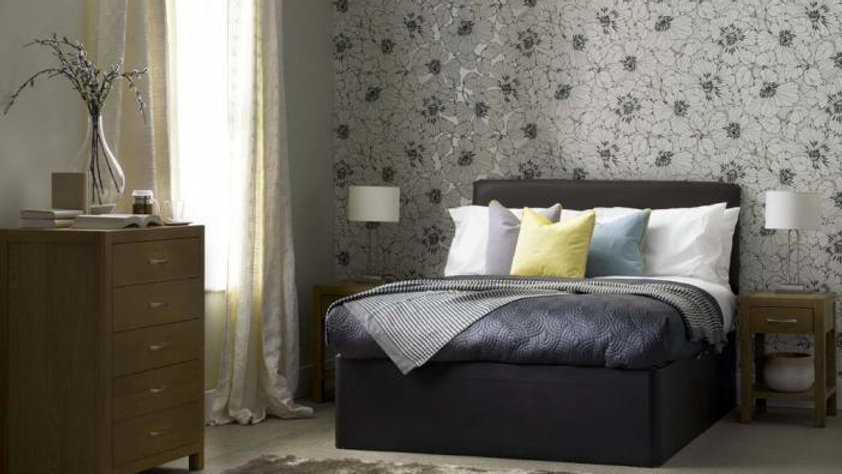 Faux Leather Divan Bed, Headboard & Mattress