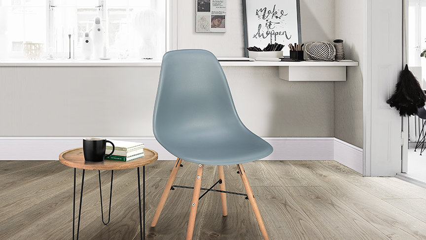 New Contemporary Hex Office Dining room Chair Available In 5 Colours
