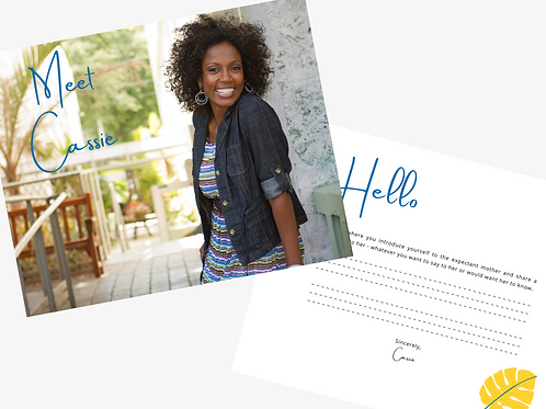 Bold Chic Profile Template (Single)