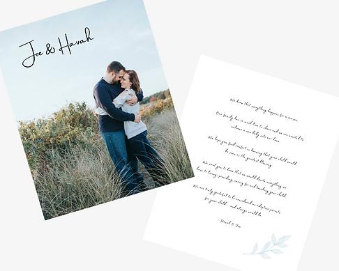 Adoption Profile Book Sample - Family