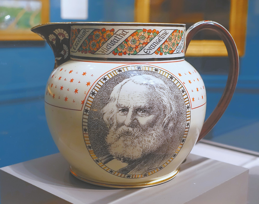 Longfellow Commemorative Pitcher