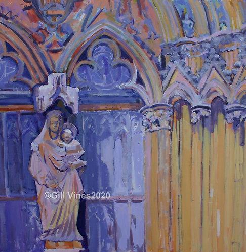 The Judgement Porch Door