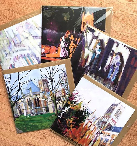 Cathedral Cards Pack of 5