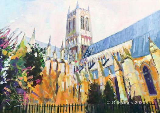 Lincoln Cathedral Northside