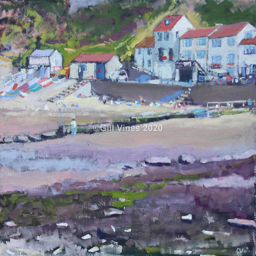To the Beach, Staithes