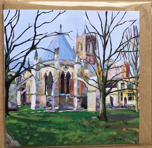 Spring Cathedral Card