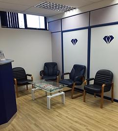 Diamond Dental Studios Exeter Reception