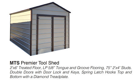 PREMIER TOOL SHED