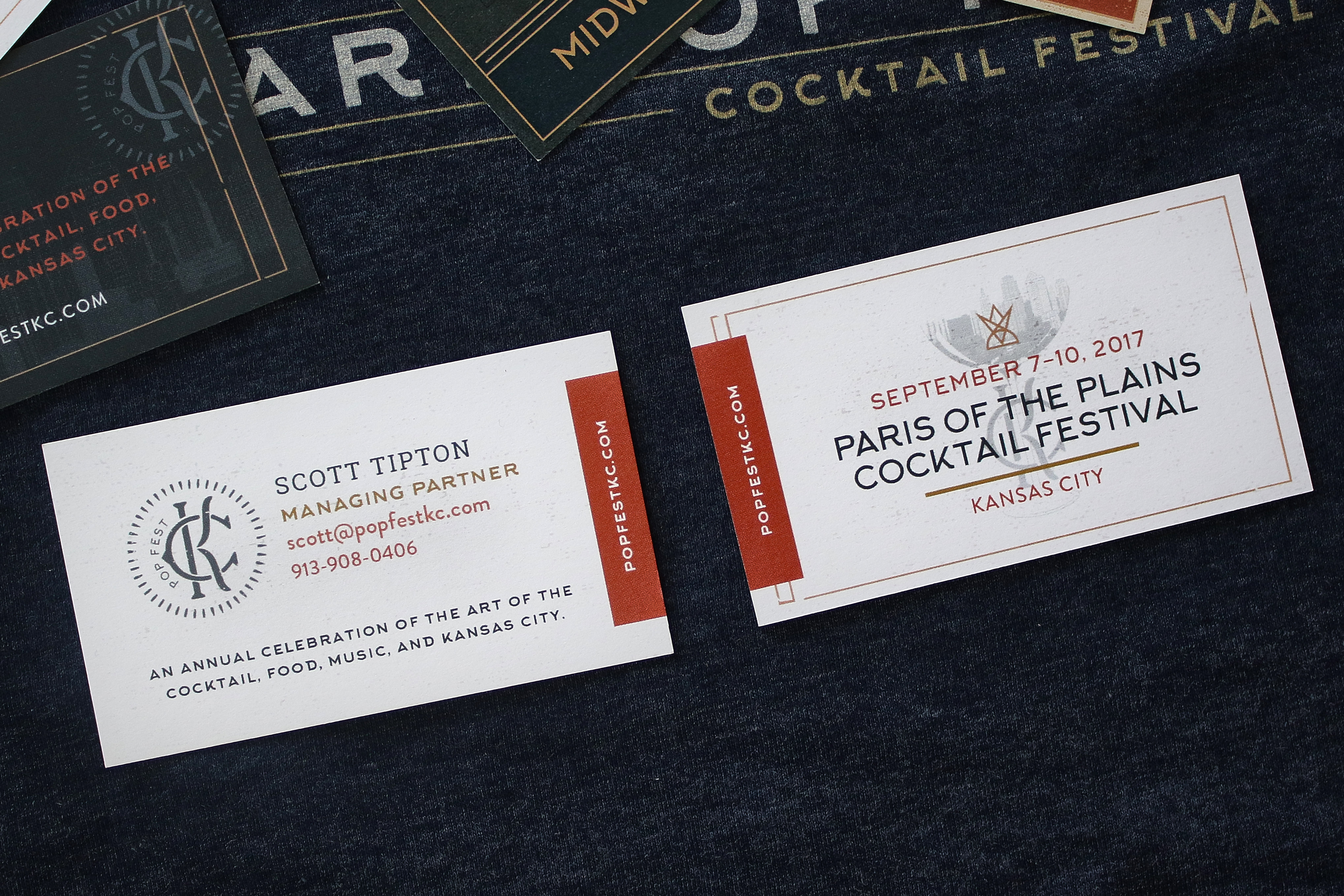 PopFest Business Cards