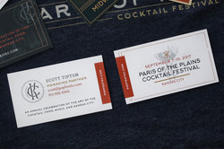 PopFest Business Cards