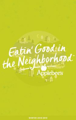 Applebee's Menu Cover