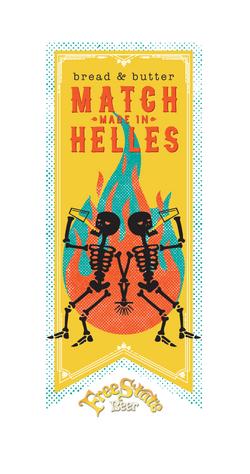 Helles Beer Art