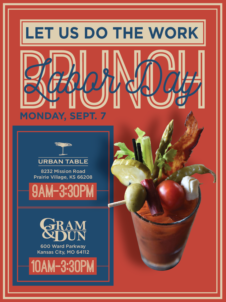 Labor Day Brunch eblast