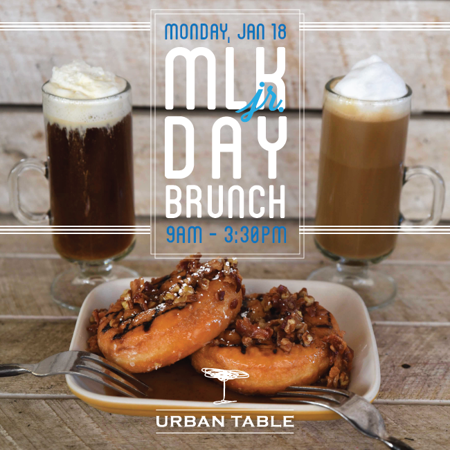 Urban Table Brunch eblast