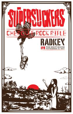 Supersuckers show poster