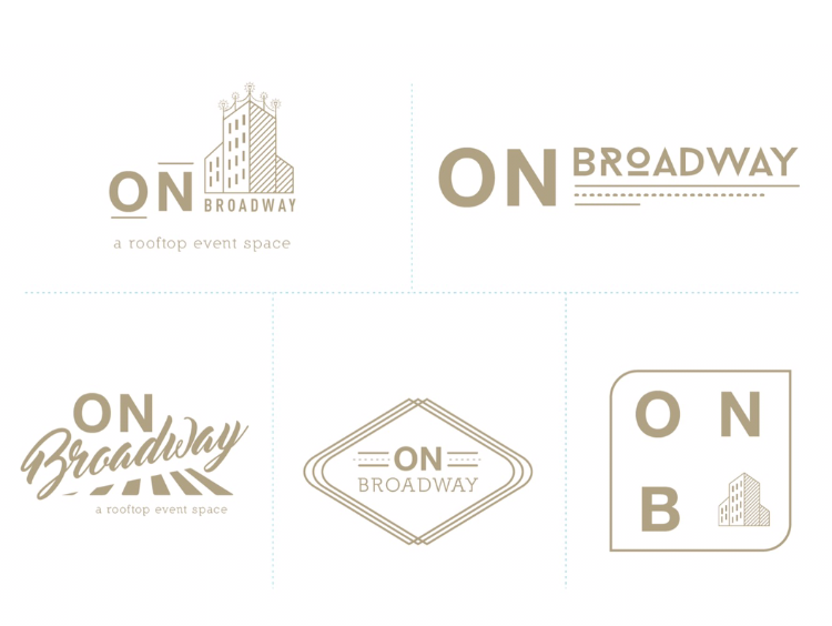 On Broadway Logo options