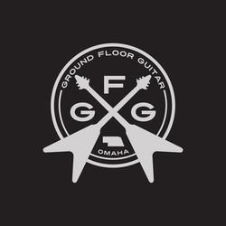 ground floor guitar tshirt design