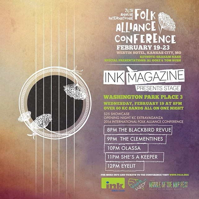 Folk Alliance 2014 Ink Magazine Ad