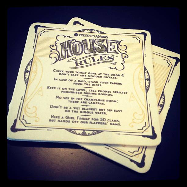 AdWars 2013 Rules Coaster