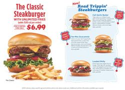 IHOP Burger Promo menu