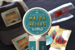 Match Made in Helles Beer Branding